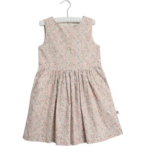 Dress Thelma rose flowers - Wheat