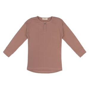 Rib henley top powder - Phil & Phae