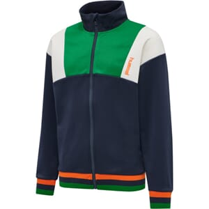 Tiger Zip Jacket green and orange - Hummel