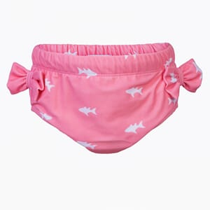 Lea Swim nappy white fish - Petit Crabe