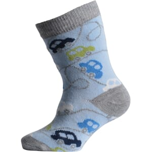 Babysock - Cars light blue - Melton