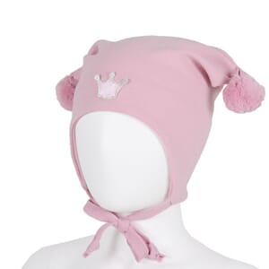 Windproof hat crown pink - Kivat