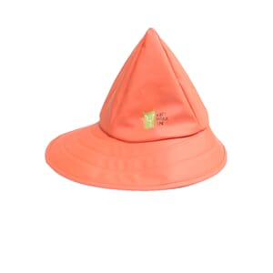 Rain hat orange love - Kattnakken