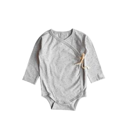 Elna wrap body  print light grey - By Heritage