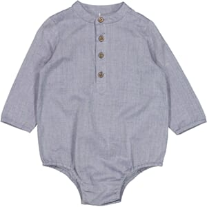Romper Shirt Victor blue - Wheat