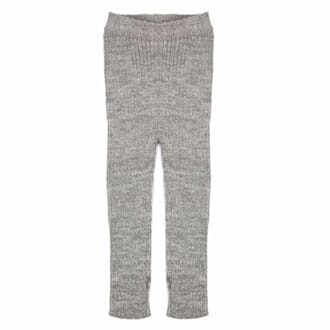 Patent Baby Leggings grey - MeMini
