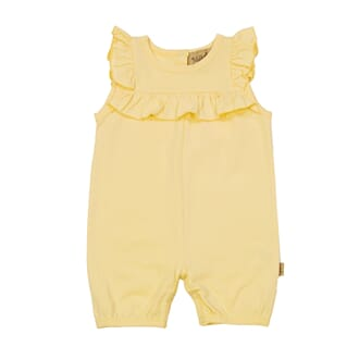 Polly Jumpsuit Pale Yellow - MeMini