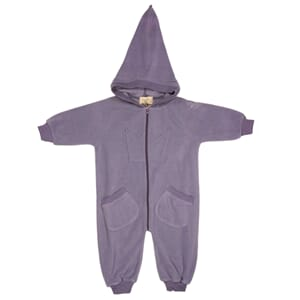 Bunny Overall purple fw19 Purple - MeMini