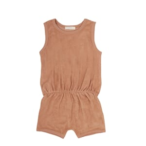 Frotté Playsuit Warm Biscuit - Phil & Phae