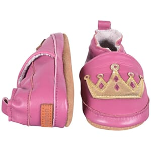 Leather Shoe - Crown rouge red - Melton