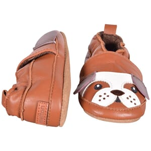 Leather Shoe - Bulldog leather brown - Melton