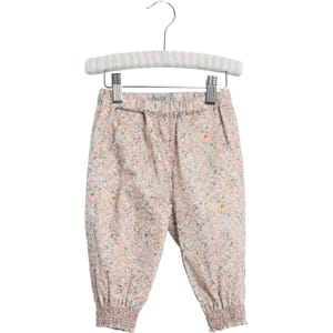 Trousers Sara rose flowers (baby) - Wheat