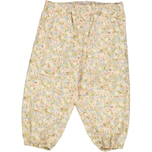 Trousers Malou bees and flowers - Wheat