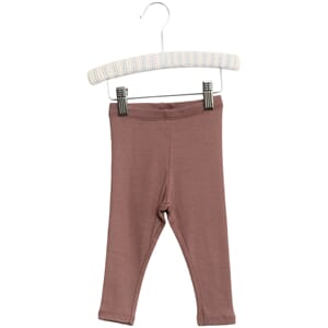 Rib Leggings powder plum - Wheat