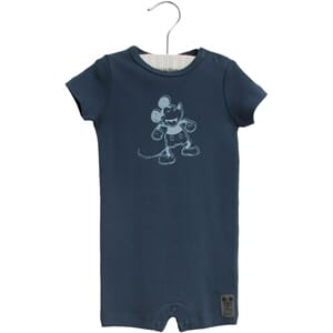 Jumpsuit Happy Mickey SS indigo - Wheat