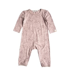 Petter playsuit print old pink - By Heritage