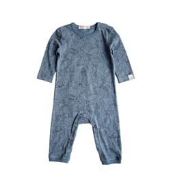 Petter playsuit print sea blue - By Heritage