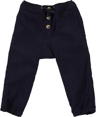 Trousers Andreas navy - Wheat