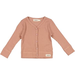 Cardigan LS rose brown - MarMar