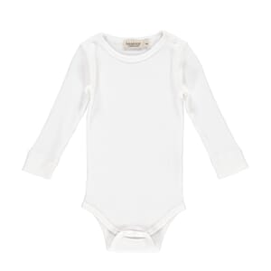 Plain Body LS gentle white - MarMar
