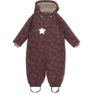 Wisti Snowsuit, M winetasting plum - Miniature