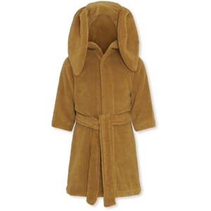 Kids terry bathrobe mustard - Konges Sløjd