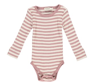 Plain Body LS antique rose stripe - MarMar