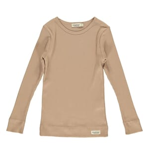 Plain Tee LS rose brown - MarMar
