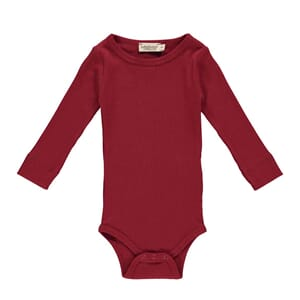 Plain Body LS red - MarMar