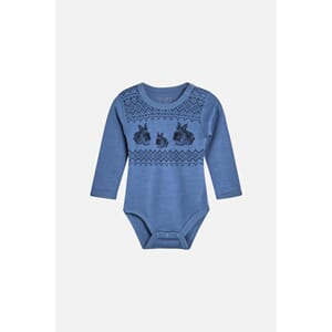 Baloo body med kaniner blue glass - Hust & Claire
