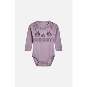 Baloo body med kaniner purple fog - Hust & Claire