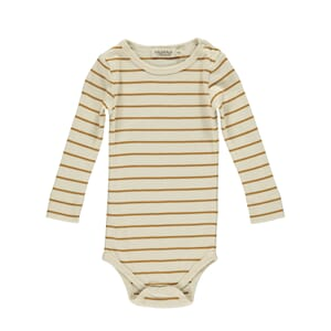 Plain Body LS pumpkin pie stripe - MarMar