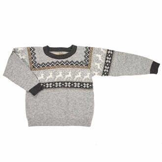 Herd Baby Sweater grey - MeMini