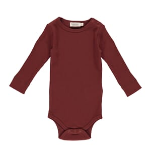 Plain Body LS cranberry - MarMar