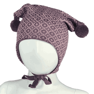 Mosaic hat purple - Kivat