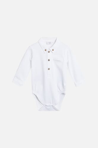 Basil Shirt Body white - Hust & Claire