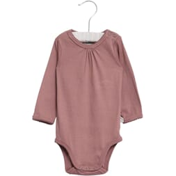 Body Frills LS dusty rouge - Wheat