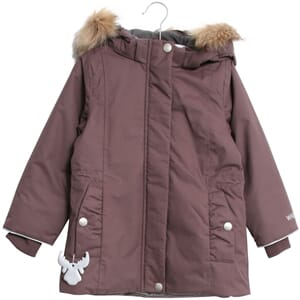 Jacket Elice eggplant - Wheat