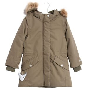 Parka Elizabeth army Leaf - Wheat
