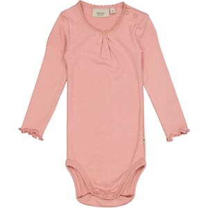 Body Rib Lace LS rosie - Wheat