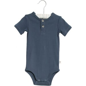 Body Placket SS indigo - Wheat