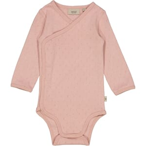 Body Wraparound LS misty rose - Wheat