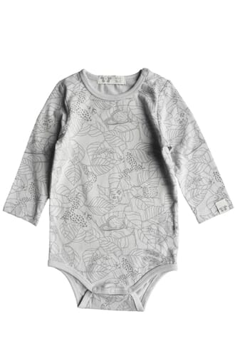 Cleo body print warm grey - By Heritage
