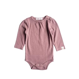 Felicia body pointelle solid dark old pink - By Heritage