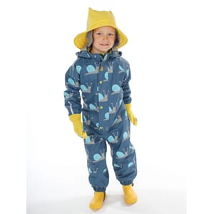 Garden winter rain suit blue - Kattnakken
