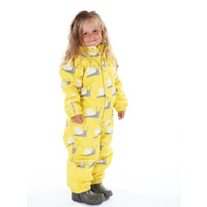 Garden winter rain suit yellow - Kattnakken