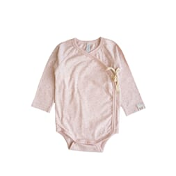 Elna wrap body  print peach pink - By Heritage