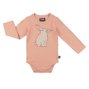 Rabbits bodysuit with print - CarlijnQ