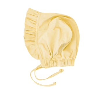 Tia Baby Bonnet Pale Yellow - MeMini