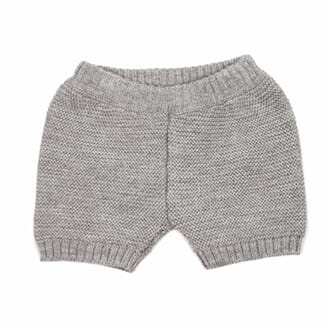 Miki Knit Shorts grey - MeMini
